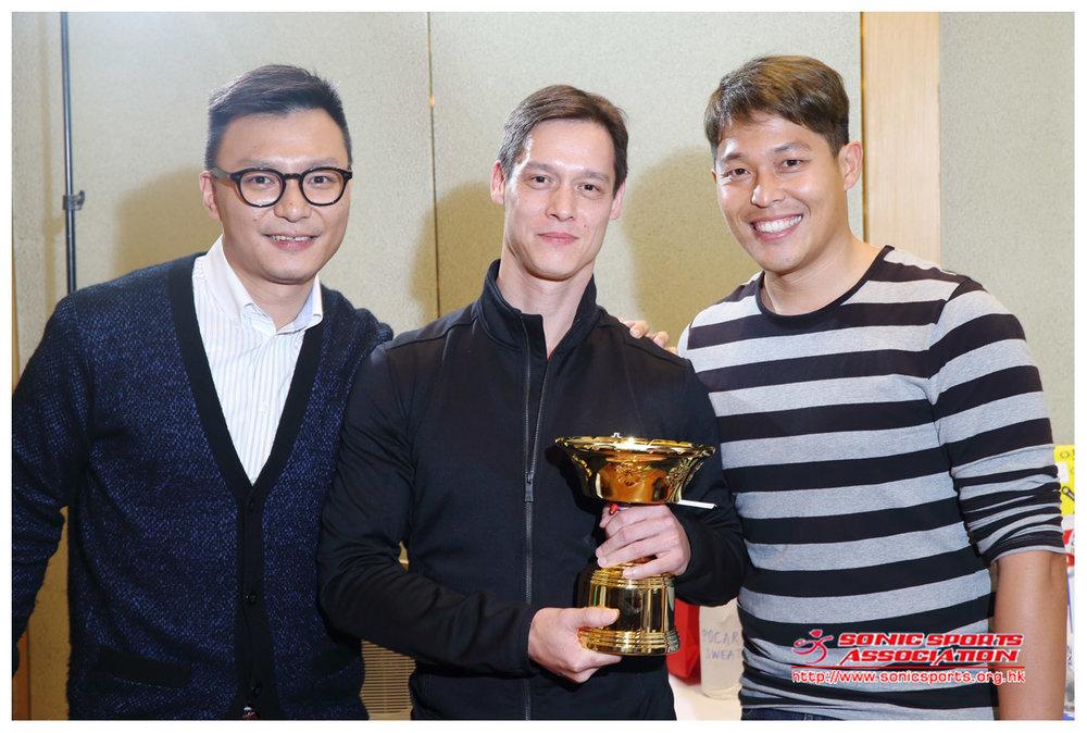 Triathlete of the year 2013 - Sacha Cheong