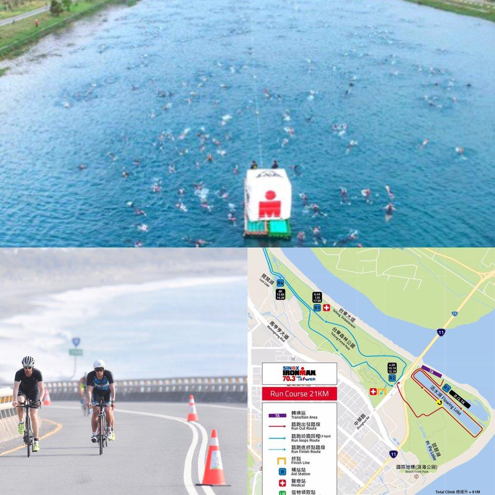 Easy swim? Flat bike and run course?