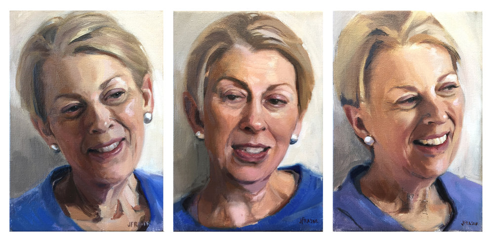 A new oil study tryptic has been added