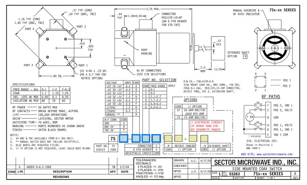 7Sx Sidemount Standard