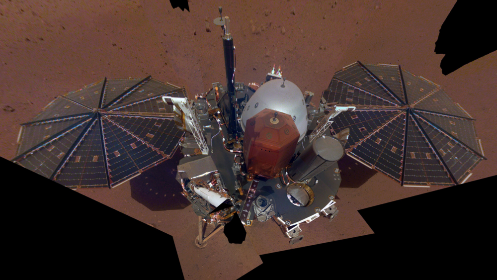 Insight's first selfie  NASA 2018
