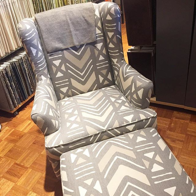 What's your angle? . . . . . . #whatsyourangle #mnshopping #geometric #grayhomedecor #geometricchair #greychair #grayisthenewblack #homedecorlove #greylove #neutraldecor #patternlove #interiordesignlover #mnsmallbusiness #stillwatermn #chairschairschairs