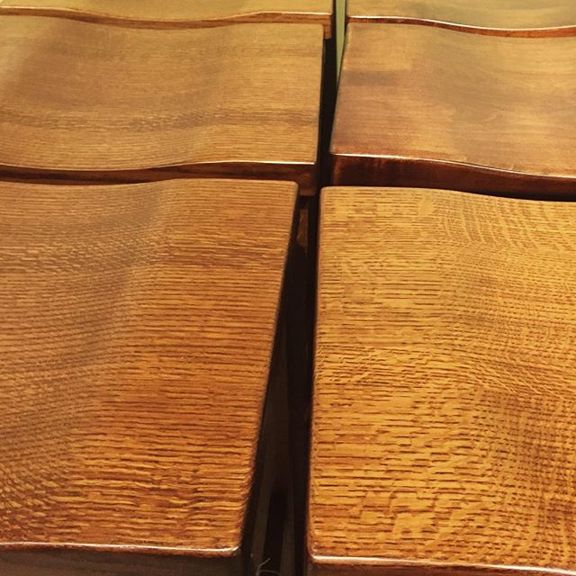 "Hubert H. Humphrey said, ""The greatest gift in life is friendship..."" Maple bar stools are a close second. . . . . #maplewood #maplebarstools #barstools #mapletrees #amishmade #mnfurniture #shopmn #downtownstillwater #amishfurniture #woodenart #furniturefun #woodenbar #stools #naturalbeauty #beautifulwood #woodgrain #rectanglesfordays #homedecorblog #homeiswhereyourstoolis #newhousedecor #eatinkitchen #woodworkcraft"