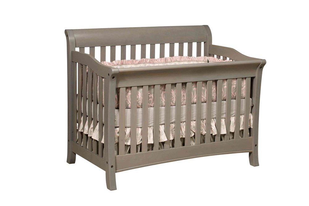 CRIBS, TODDLER BEDS, SOLID-WOOD AMISH FURNITURE, DRESSERS, CHANGING TABLES.