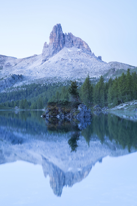 Mirroring mountain