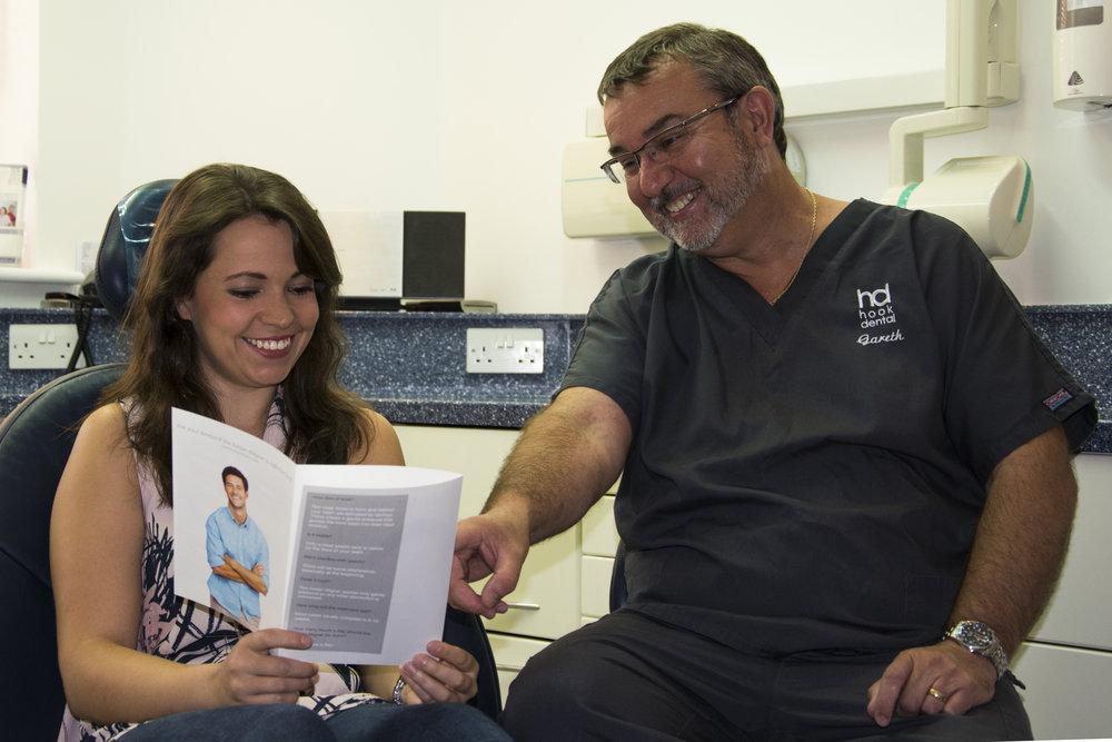 Hook Dental, Client and Dentist