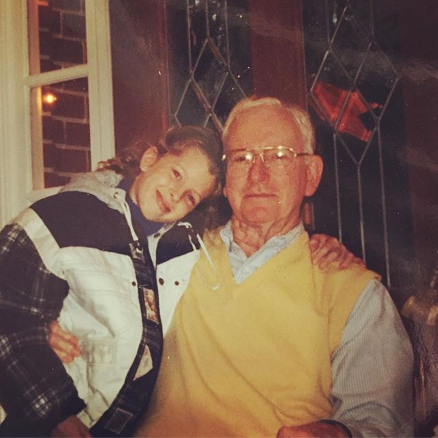 Grandfathers are the best.  Especially ours.  Tomorrow is Scott Haltom Day @eloise_nichols .  In honor of Veterans Day we're giving a free drink to all vets in homage to our very favorite one. 🇺🇸💪🏻Ps. Message me for details on where to buy my jacket. 🔥🔥