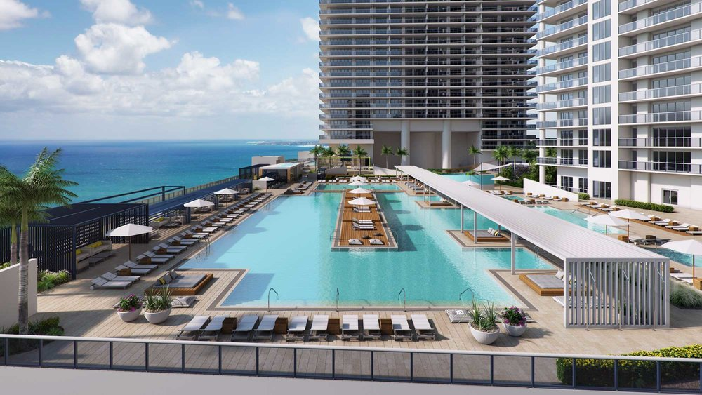 Tower III  Pool Deck