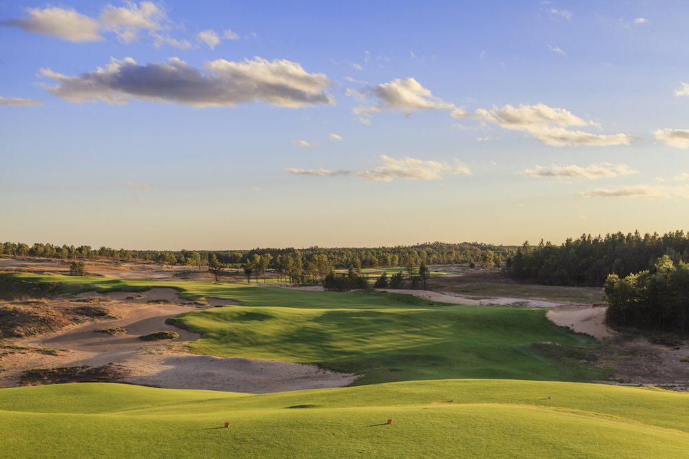 Sand Valley's First Hole