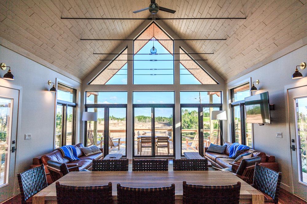 Lake Leopold Cottage Common Room