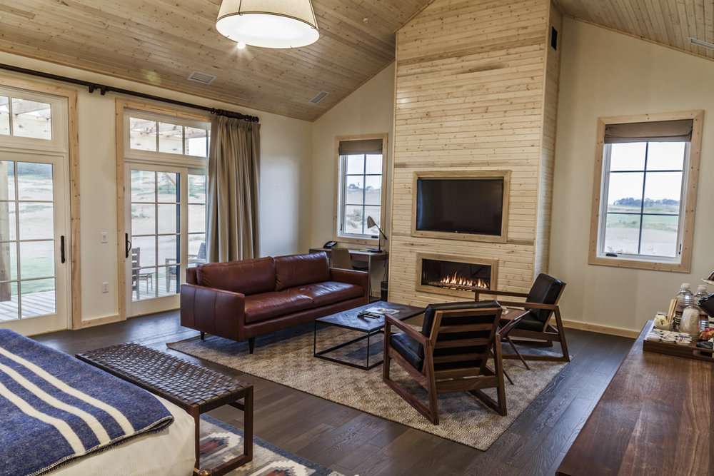 Wisconsin King Suite at Sand Valley