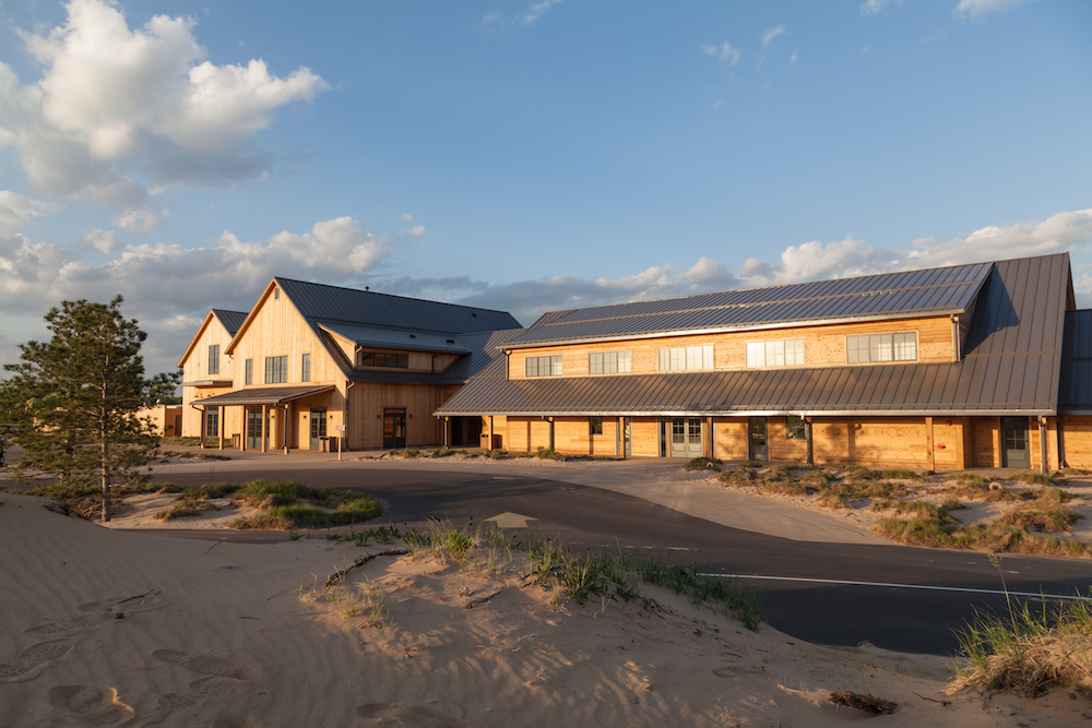 View of Sand Valley Clubhouse