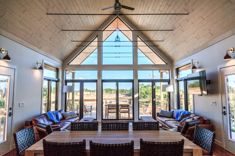 Lodging at Sand Valley - Lake Leopold Cottage