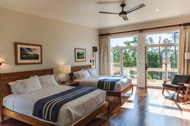 Lodging at Sand Valley - Lake Leopold Cottage Bedrooms
