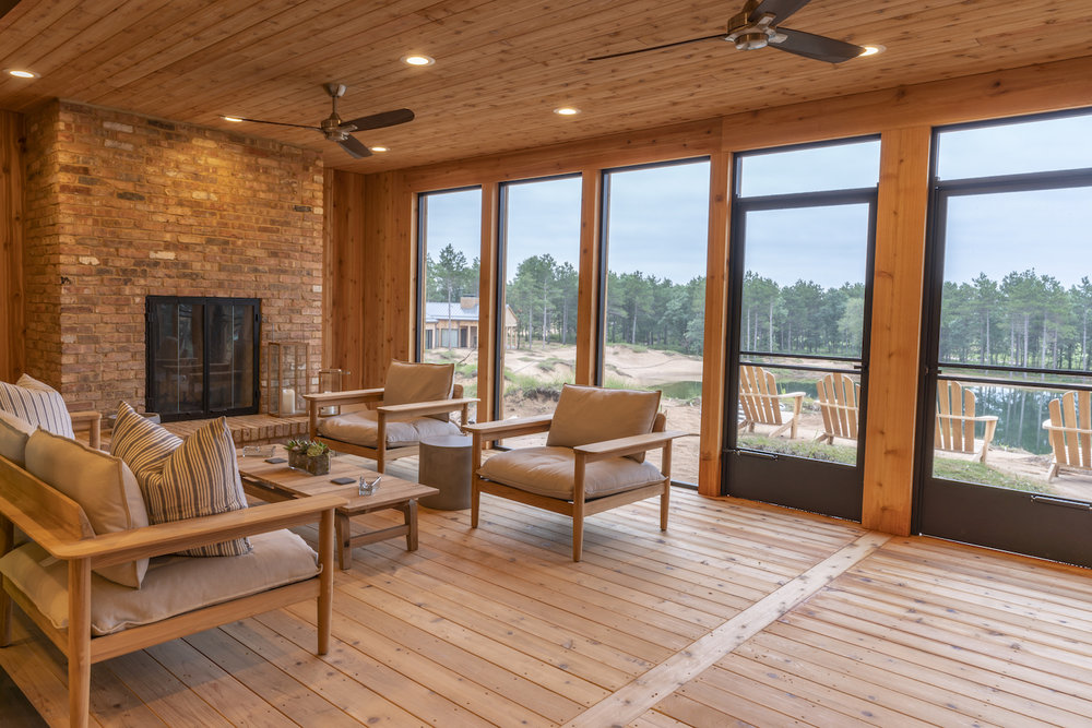 Sand Valley Residences - Dunes Cottage Screened in Porch