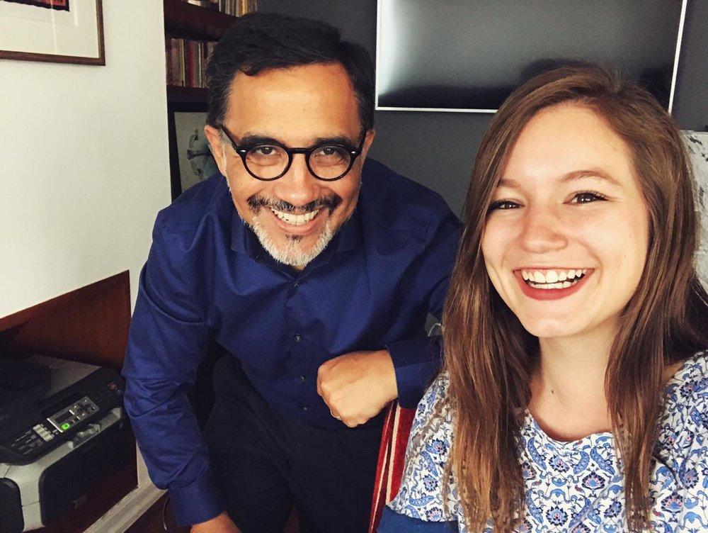 He ido adquiriendo fluidez… - Patricio HernandezCEO of Red Televisiva Megavisión.