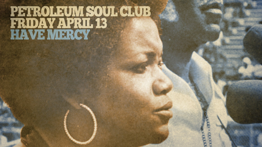 Petroleum Soul Club is Edmonton's own 45 RPM vinyl dance party featuring selectors with a love for the hits of Motown and soul music of the 60s and 70s!   Reserve your table for dinner and drinks  HERE .  Party kicks off at 9pm and as always, no cover charge!