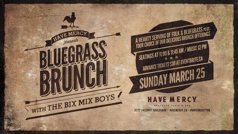 Tickets include live music and your choice from our brunch menu. More details and ticket sales  HERE .