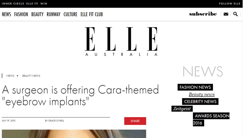 Elle - Cara Theme Dr Durante Keith hair transplant neograft hair restoration balding female balding male patterned