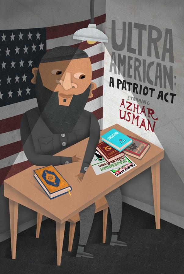 Ultra American Poster Art
