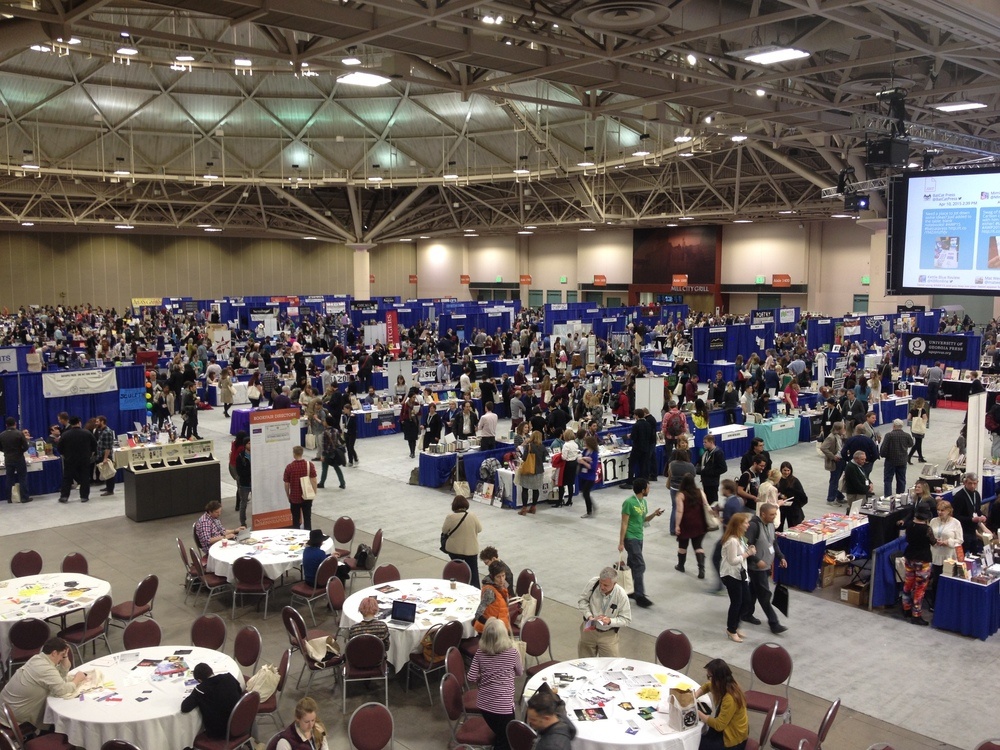The Book Fair at the AWP 2015 Conference in Minneapolis, Minnesota