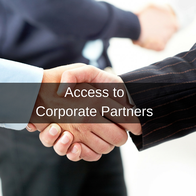 Our network of Global 500 corporate partners includes organizations from every major industry. We can help source the right business networking opportunities, Business Development connections, and relevant proofs of concepts to test your product in real-world scenarios.