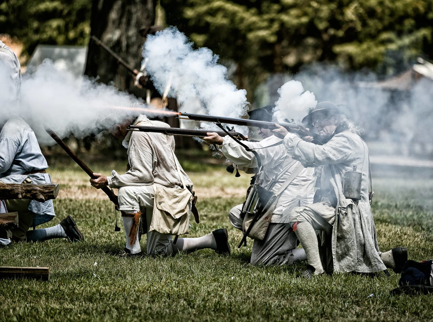 Revolutionary War Reenactment — Historic Latta Plantation