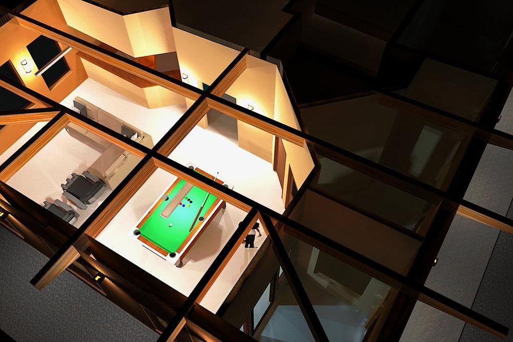 3-D rendering of a Design-Build clinic; Delta Junction, Alaska