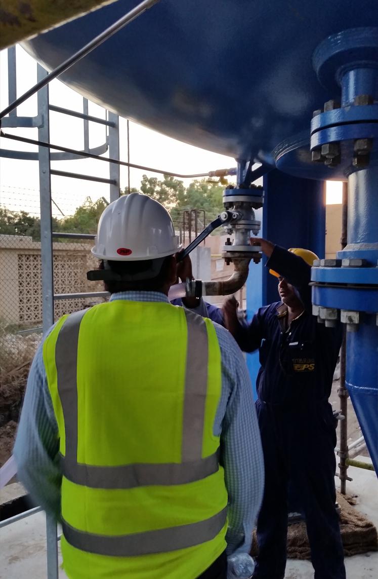 Desalination Plant Pumping Station, Al Ghubra