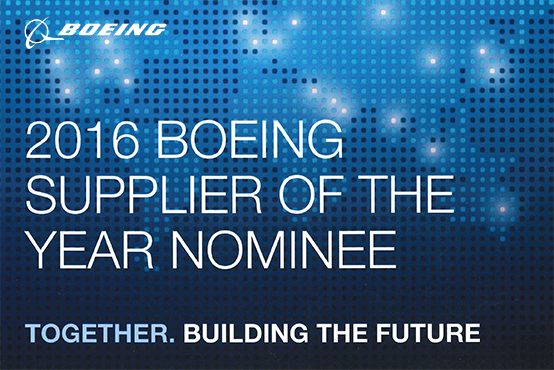 Boeing Supplier of the Year Nominee 2016 Certificate THUMB.png