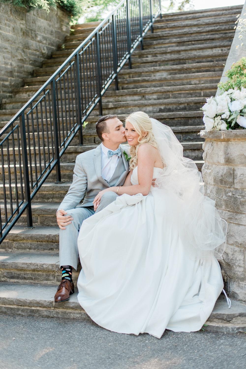 RBG Wedding, Burlington Wedding Photographer