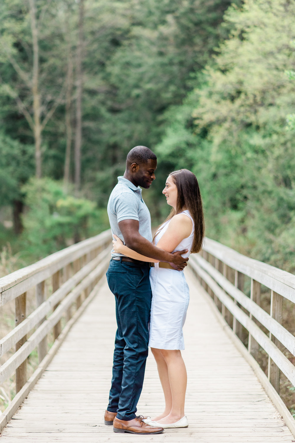 Jessica & Michael | Huron Natural Area Engagement