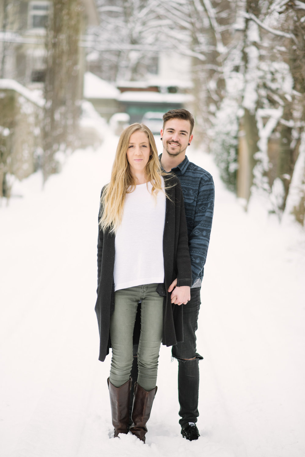 Jess & Tim | Winter Engagement Session