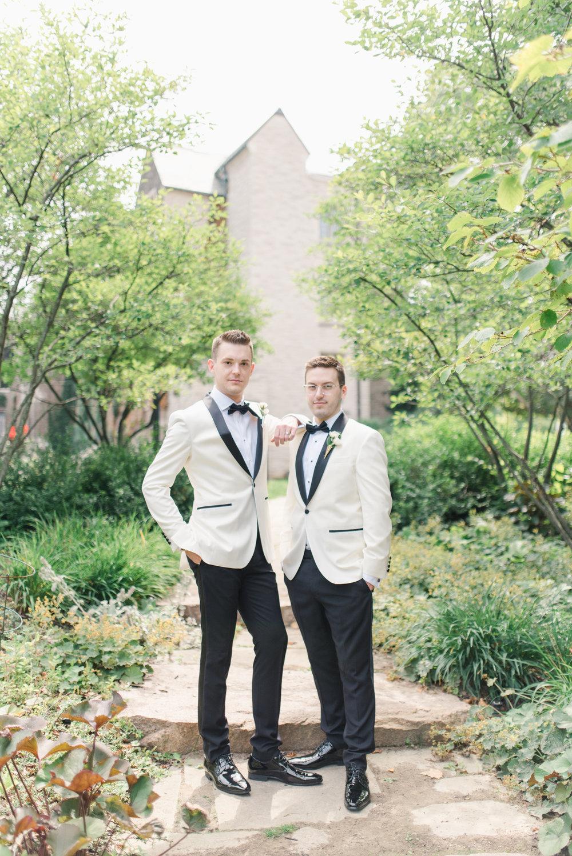 Daniel & Jeff's Classic Elegant Dundas Wedding