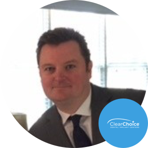 MARK MACAULAY   Director of Corporate Relations   ClearChoice Management Service    Improving Employee Communications: a Big Goal for the Big Board