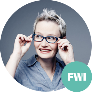 KELLY BYROM    Head of Design   Four Winds Interactive    Want to Transform Your Organization? Learn to Think Like a Designer