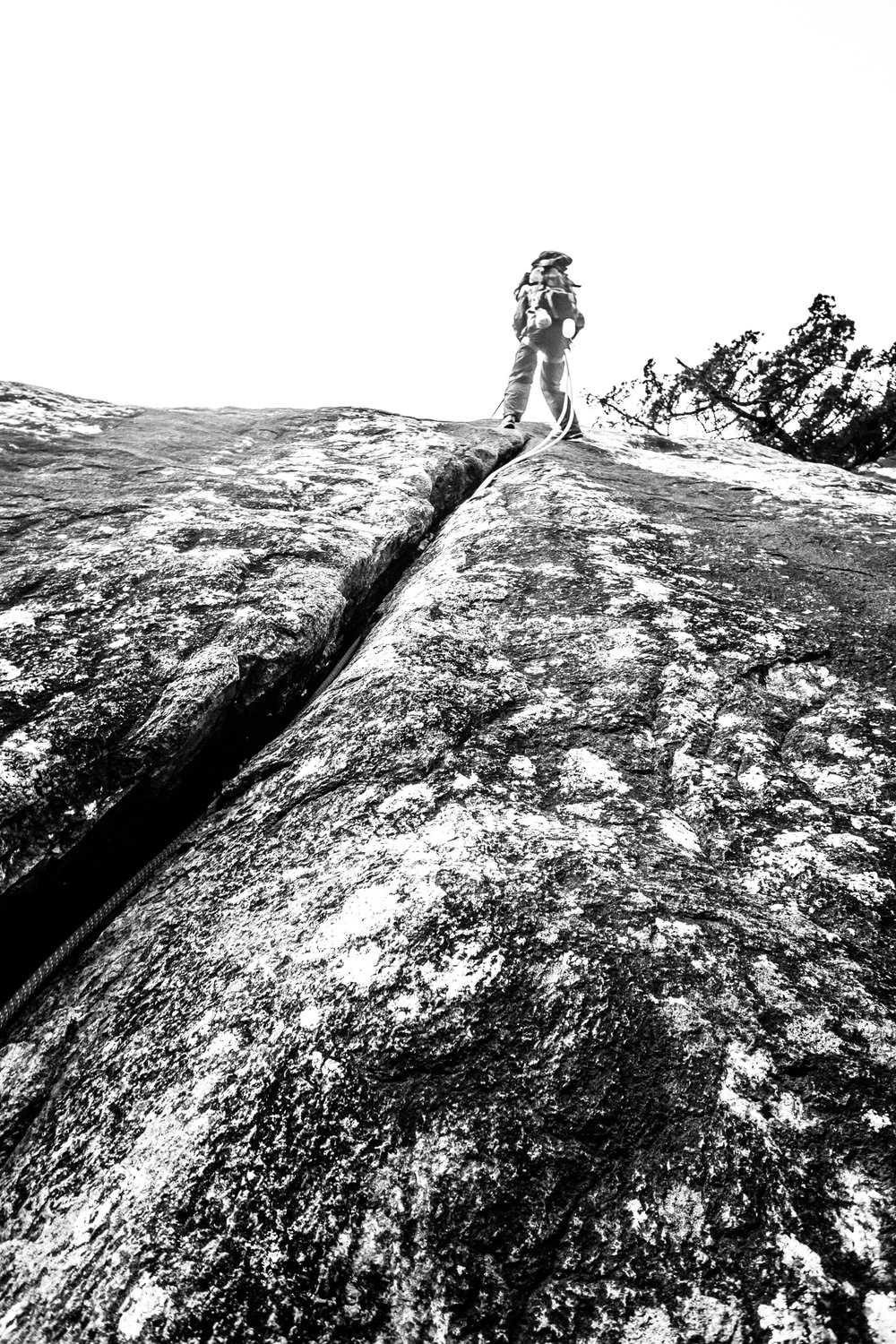 4-22-17 Rock Climbing black & white-6.jpg