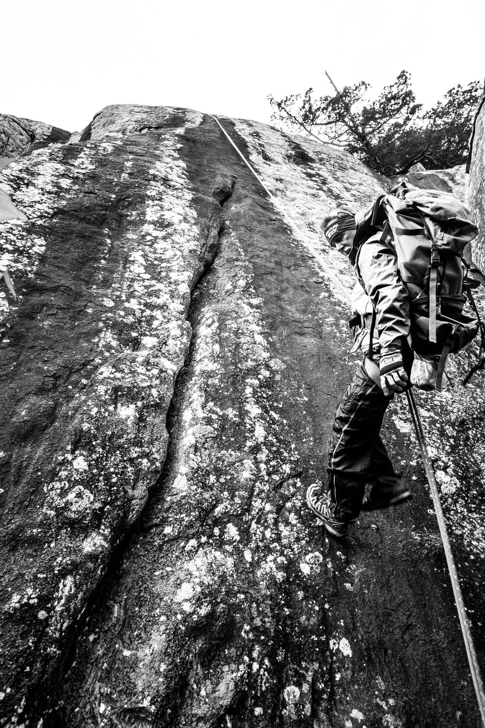 4-22-17 Rock Climbing black & white-7.jpg