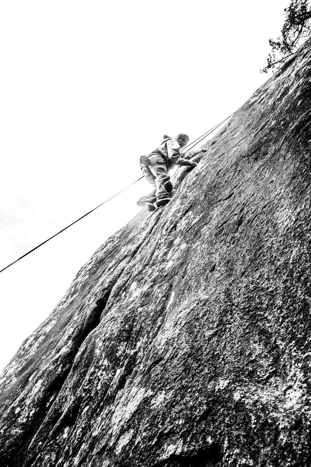 4-22-17 Rock Climbing black & white-11.jpg