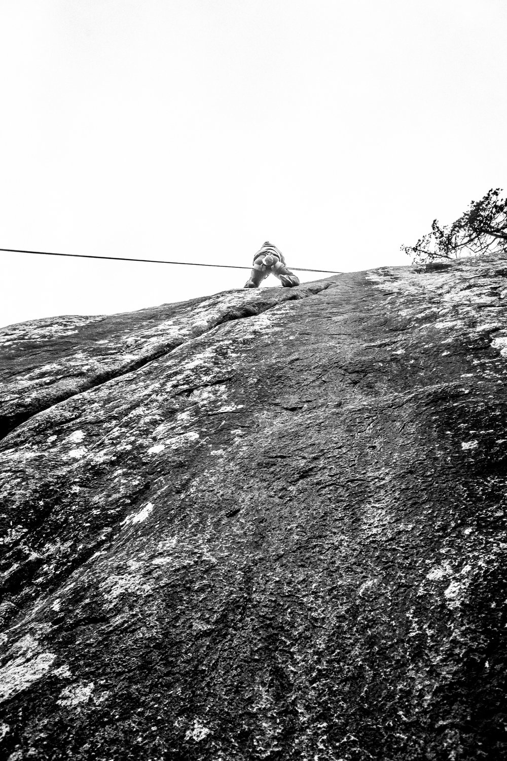 4-22-17 Rock Climbing black & white-13.jpg