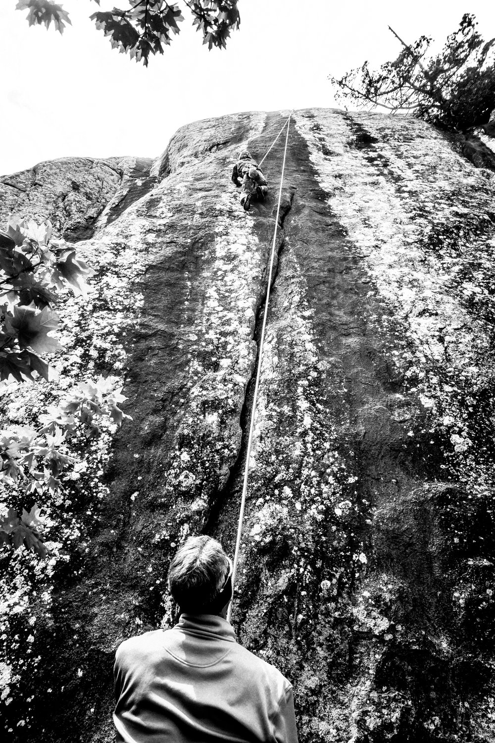 4-22-17 Rock Climbing black & white-18.jpg