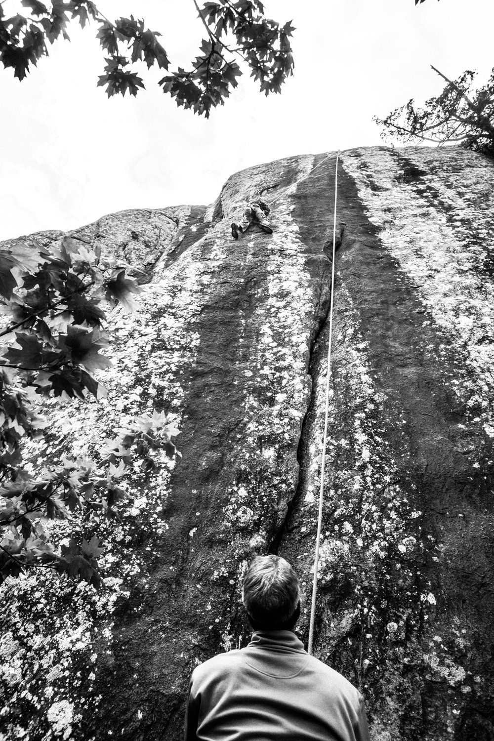 4-22-17 Rock Climbing black & white-19.jpg