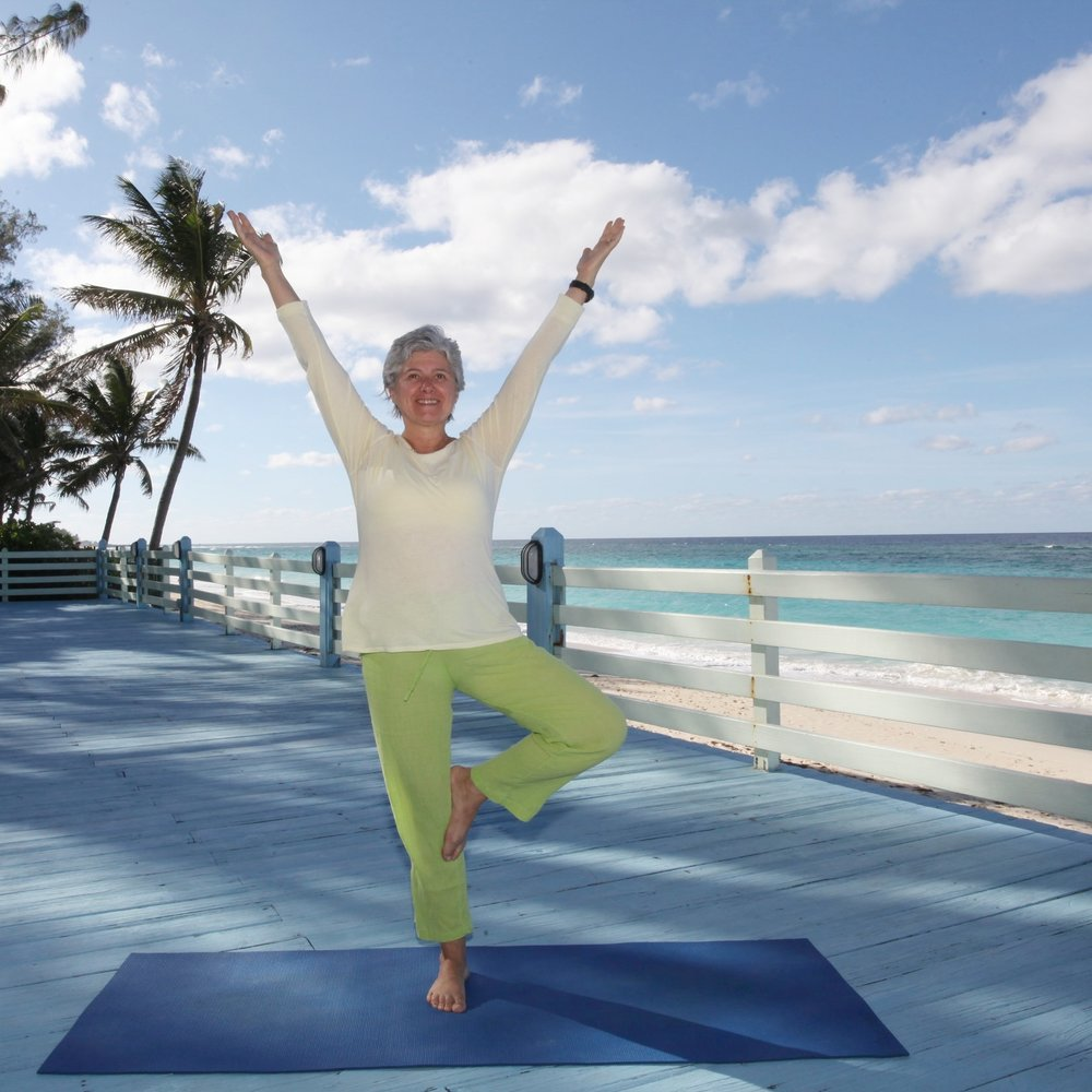 Yoga for Osteoporosis - Teacher Training -February 18 — 22, 2017, Bahamas Advance your skills to teach safe and therapeutic yoga in the world's epidemic of bone loss and support healthy aging. This certification training is for yoga teachers and yoga therapists who want to learn how to assess, evaluate and design a program for individuals with osteopenia and osteoporosis. In order to protect and strengthen the postural structure, we will get to the root of bone loss and surrender it to Swami Vishnudevananda's Five Points of Yoga therapeutic values. You will also learn how to adapt yoga postures for your students with osteoporosis and how to maximize weight bearing effects of yoga asana to straighten sensitive areas to effectively increase bone density.