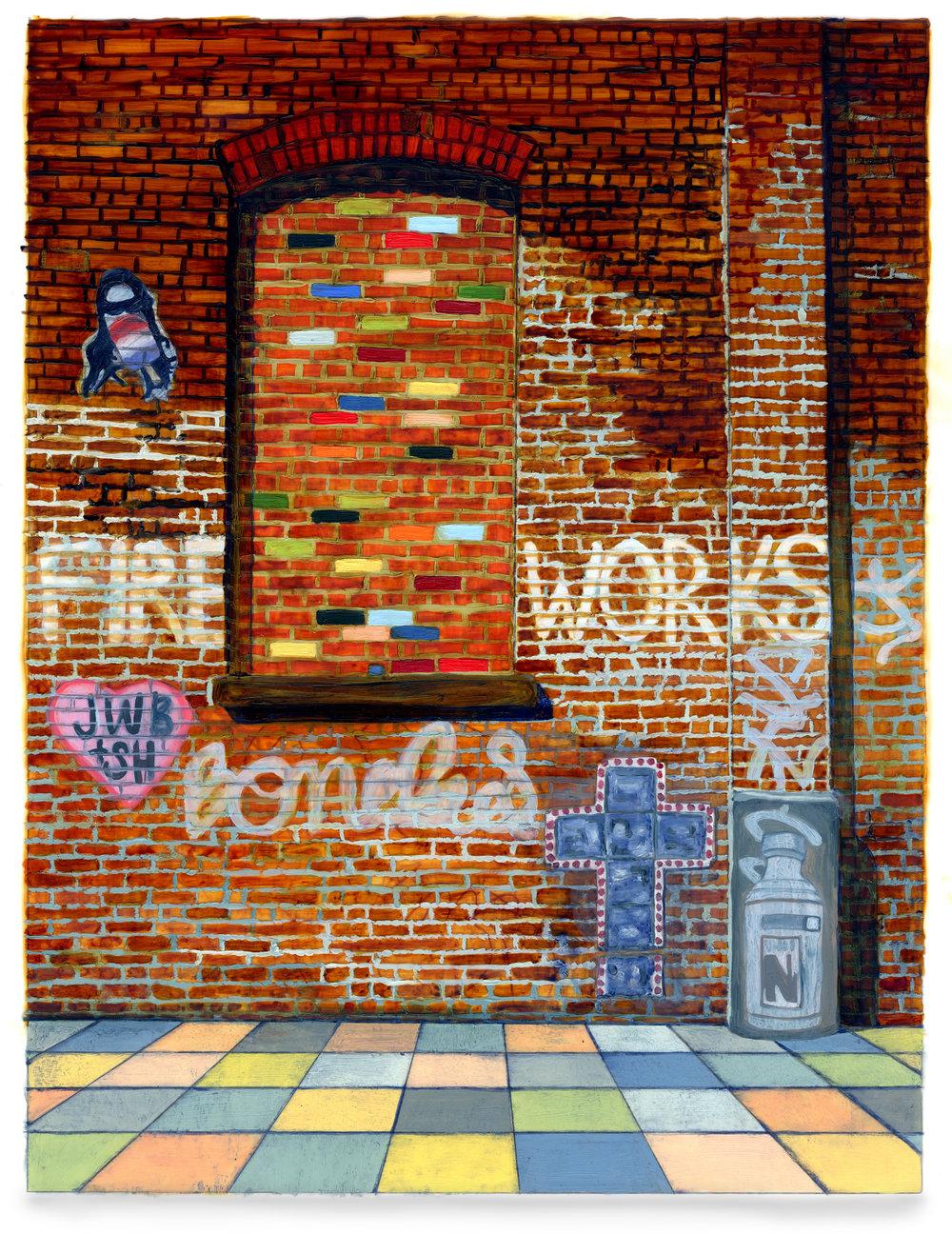 Bricks and Stones May Break (Brooklyn/Fire Works)