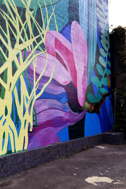 Gowanus: Industry Meets Ecology Mural (DETAIL)