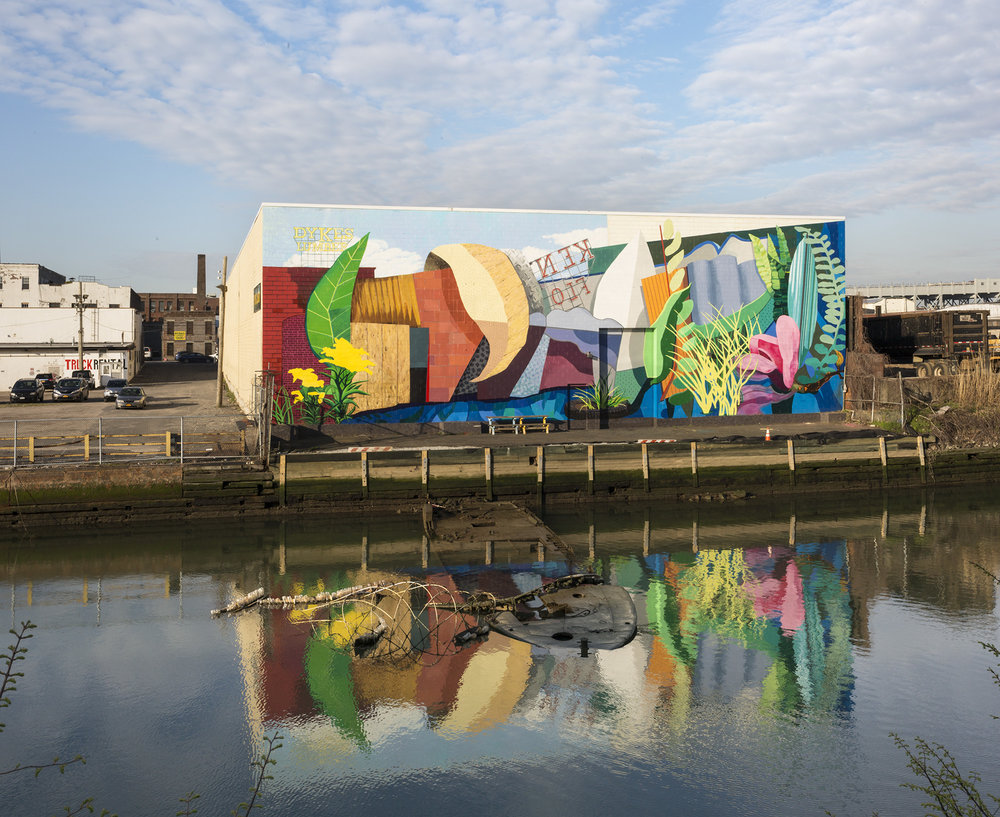 Gowanus: Industry Meets Ecology Mural