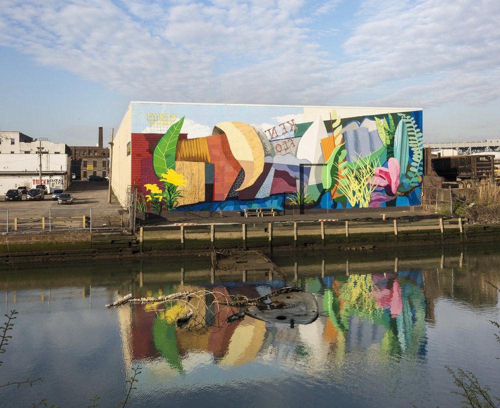 Gowanus: Industry Meets Ecology Mural