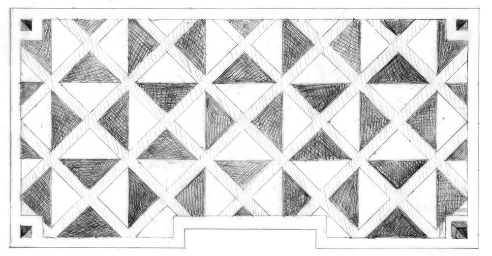 Floor Painting Study