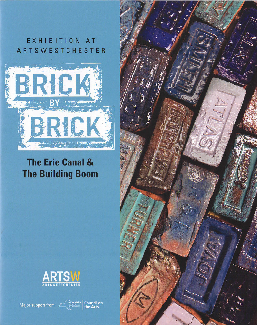 "ArtsWestchester ""Brick by Brick"" catalog"
