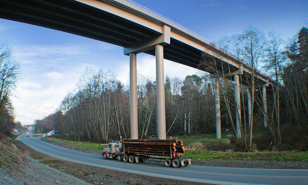 8TH STREET BRIDGE REPLACEMENTS , Port Angeles, Washington  Owner/Client : City of Port Angeles  Services : Civil and Structural Engineering, Environmental Permitting, Construction Management 2011 ACEC National Silver Award